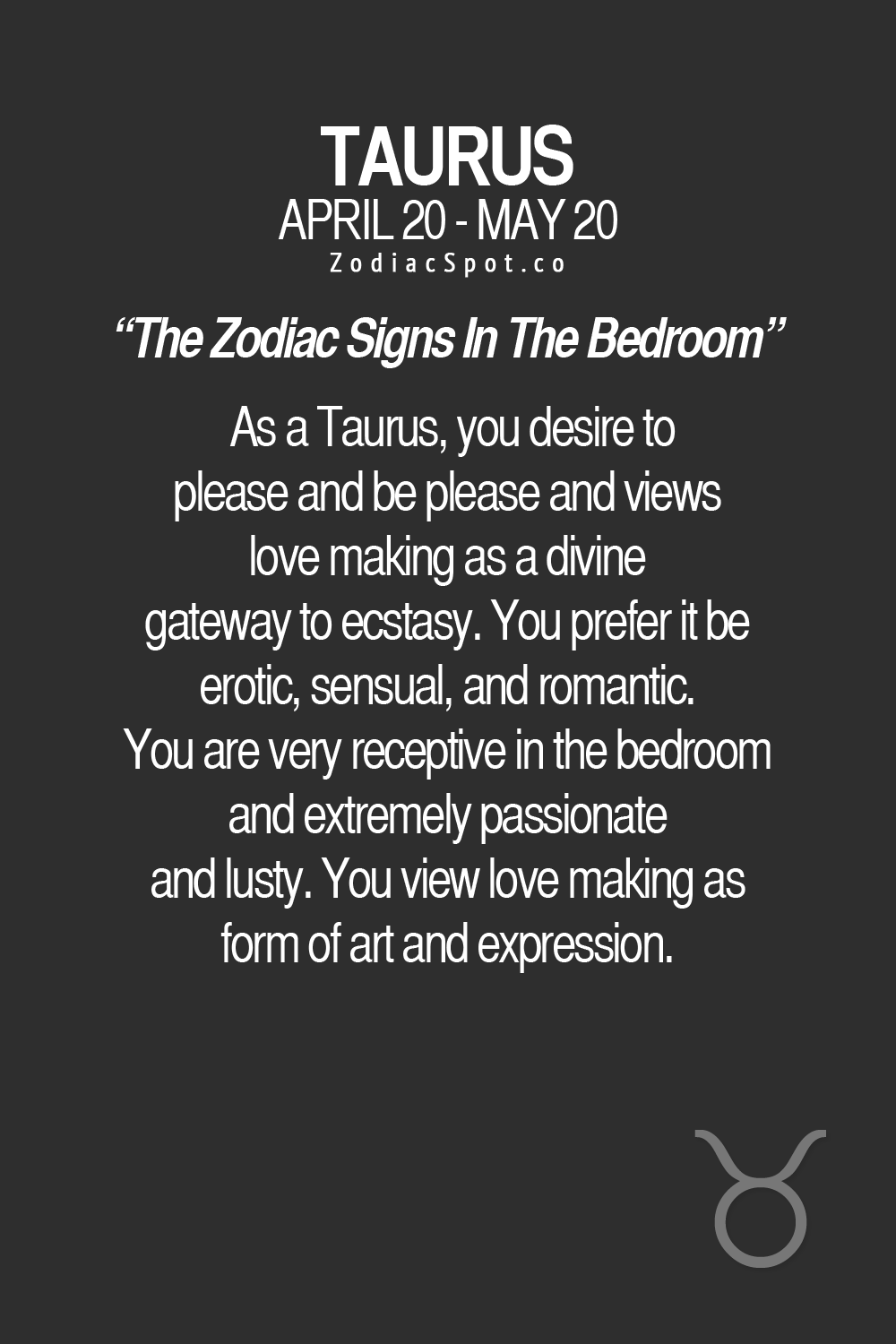 zodiacspot: How would your sign be in the bedroom? | Cancer ...