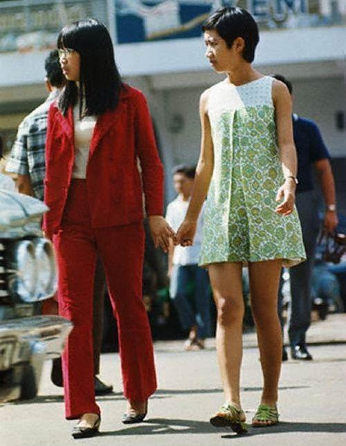 60s 70s Old Saigon Fashion