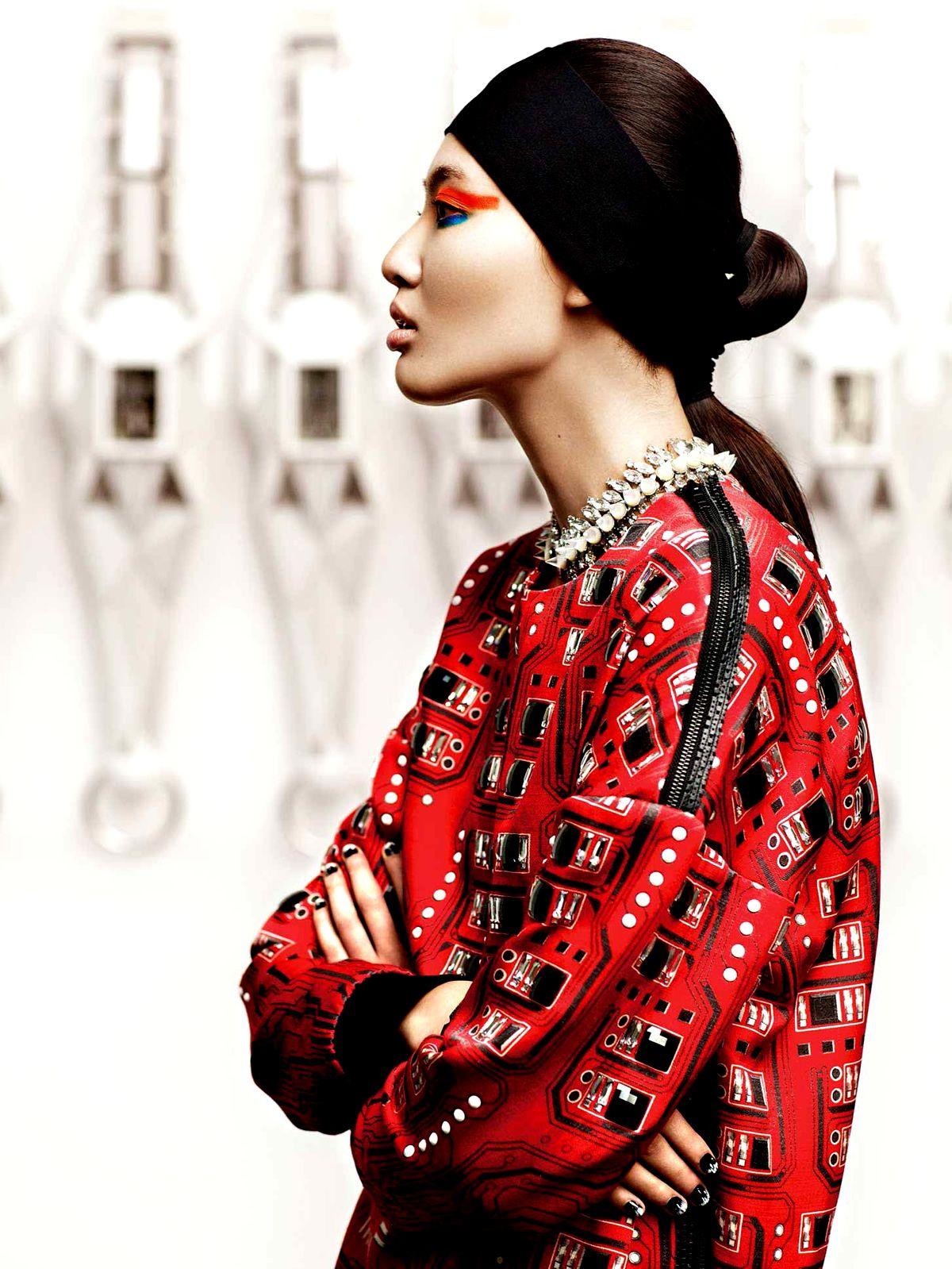 Bonnie Chen by Giorgio Batu for Vogue China April 2014