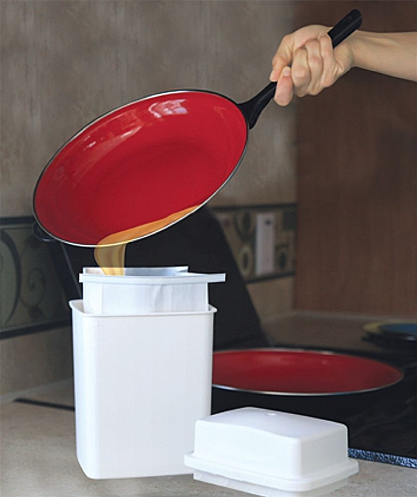 Camco 42281 RV Grease Storage Container Camco, Storage