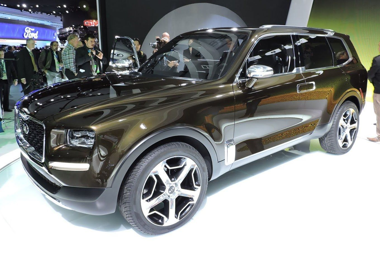 Kia Telluride Concept Detroit Auto Show 2016 Игрушки