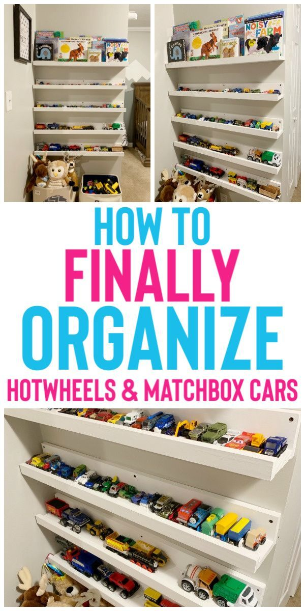 How To Organize Hot Wheels & Matchbox Cars - Organization Obsessed