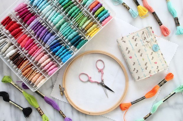 Embroidery 101 How To Embroider Embroidery Hand Embroidery And
