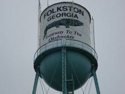 Water Tower Folkston Ga Water Towers On Waymarking Com Water Tower Folkston Tower