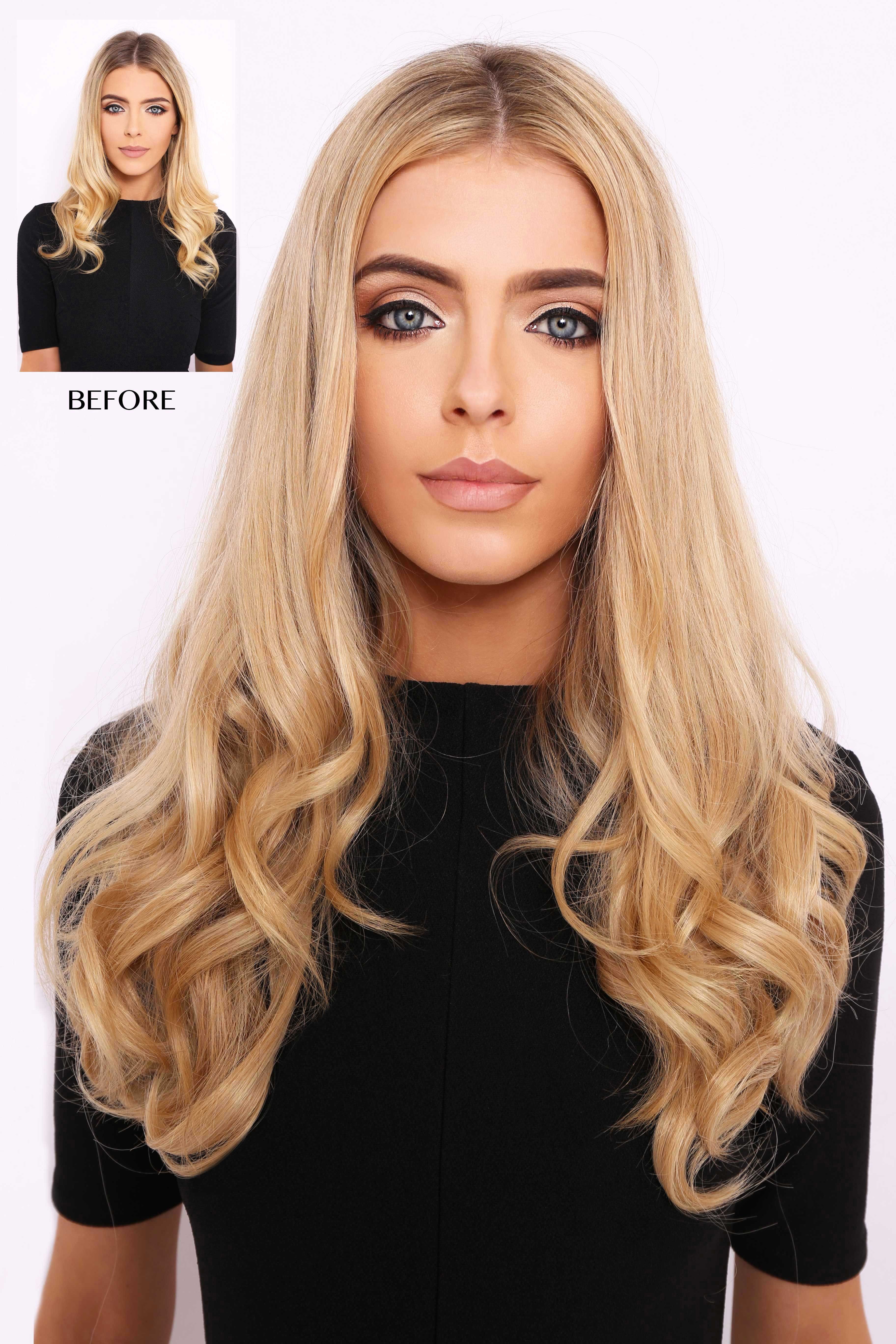1 clip to add length and volume to your hair with these 16