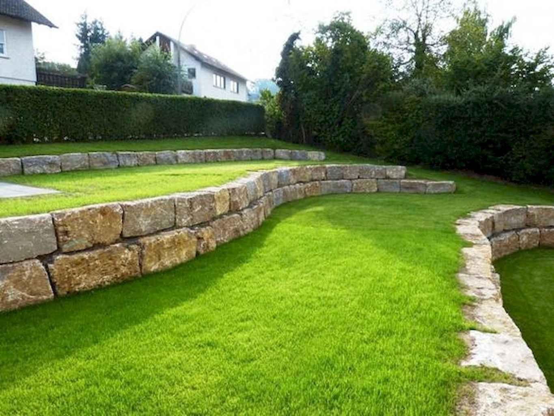 31+ DIY Retaining Wall Ideas for Beautiful Garden Sloped