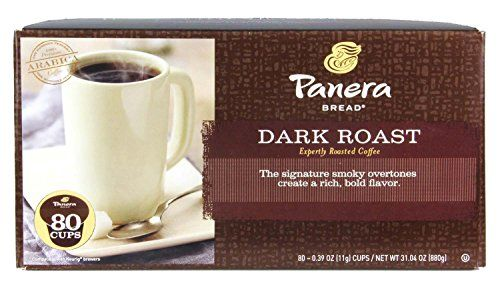 Panera Bread Coffee Box Mesmerizing Panera Bread Coffee Single Cups Dark Roast 80 Count ** Click On Decorating Design