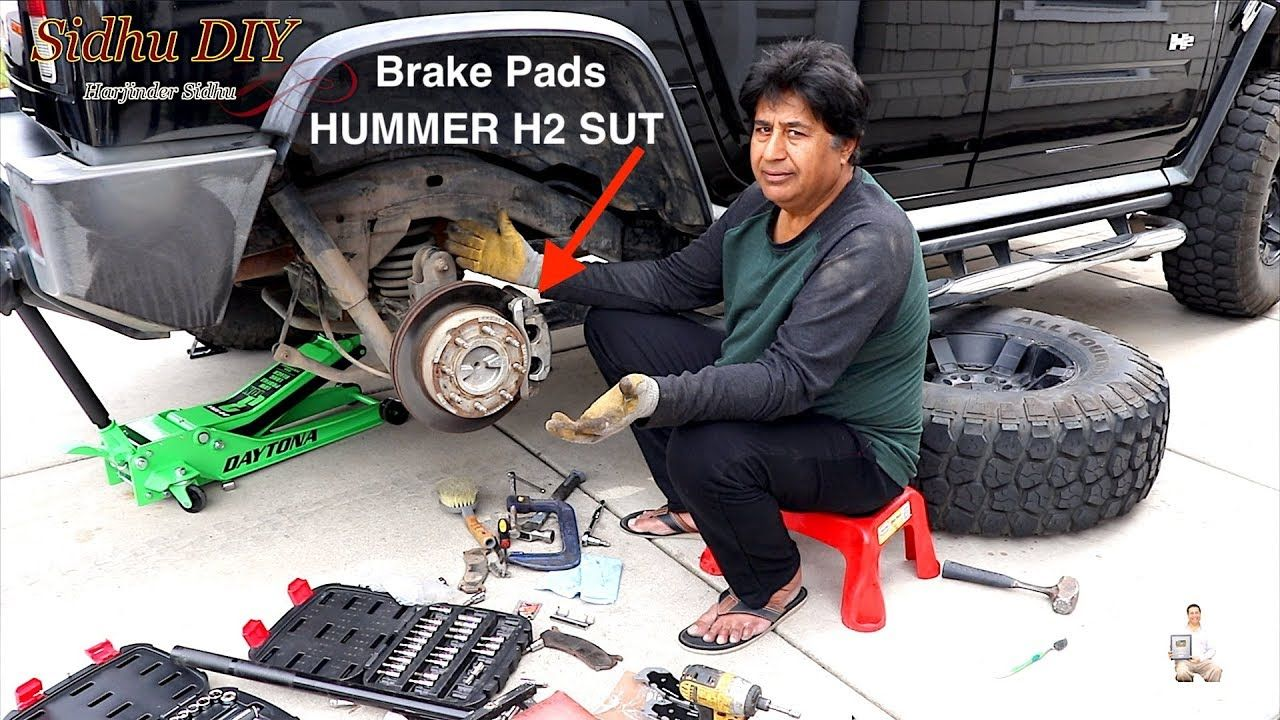 How To Install Brake Pads On Hummer Rear Brake Pads Replacement Brake Pads Brake Pad Replacement Hummer