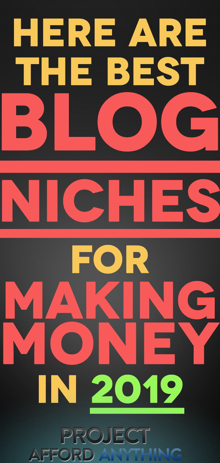 7 Blog Niches That Have Six-Figure Income Potential