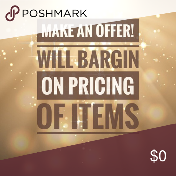 BUY 3 ITEMS SAVE 10% Pricing of my items are not completely set and stone. I did just lower the price of many items so please check them out and don't be afraid to make an offer! Hollister Other