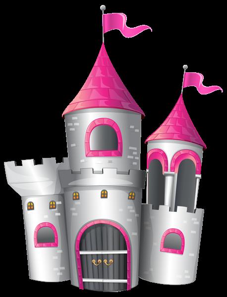 White And Pink Castle Png Clip Art Image Castle Pink Castle Disney Princess Castle