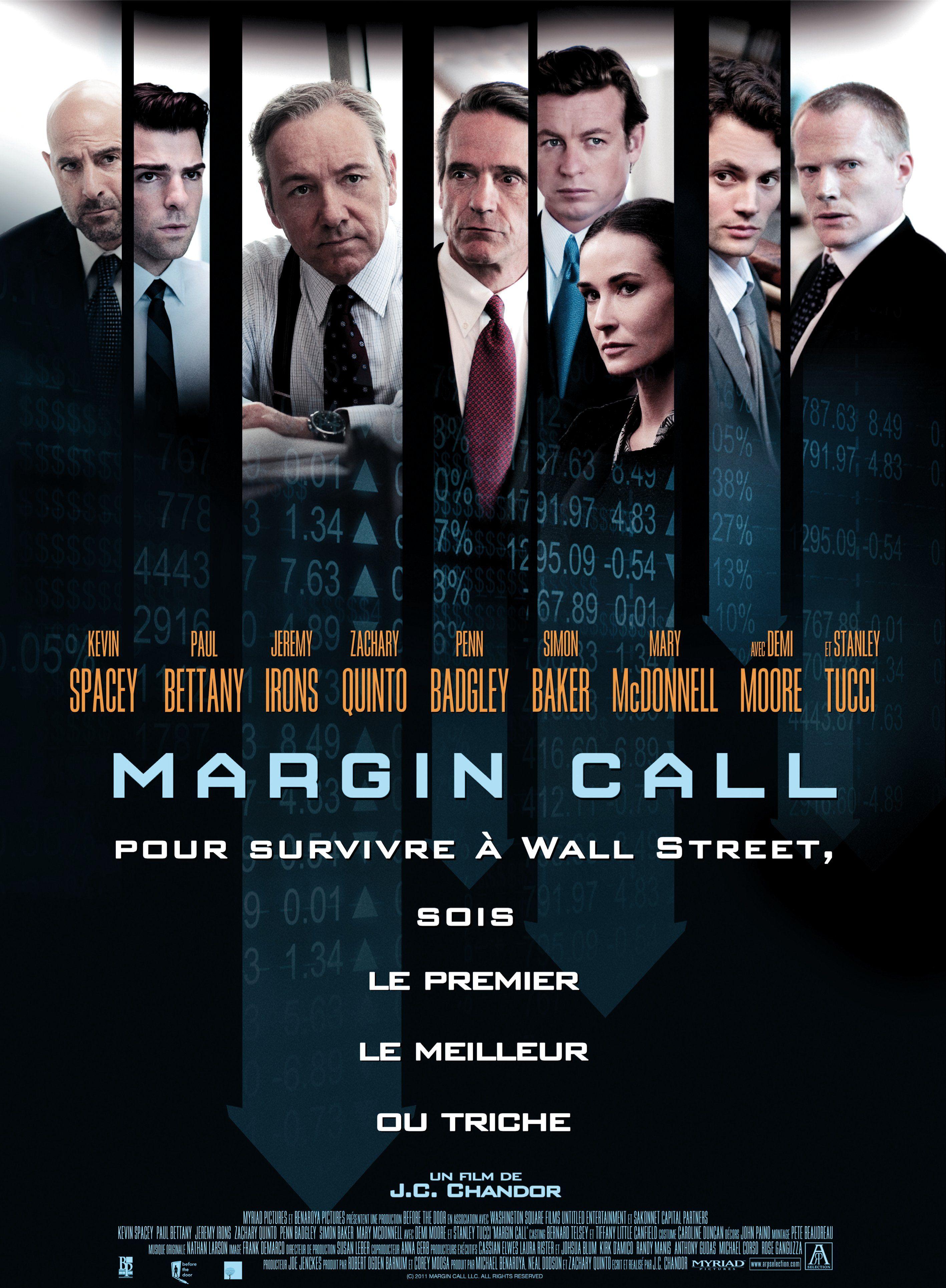 Margin Call De J C Chandor Bon Film Kevin Spacey Paul Bettany