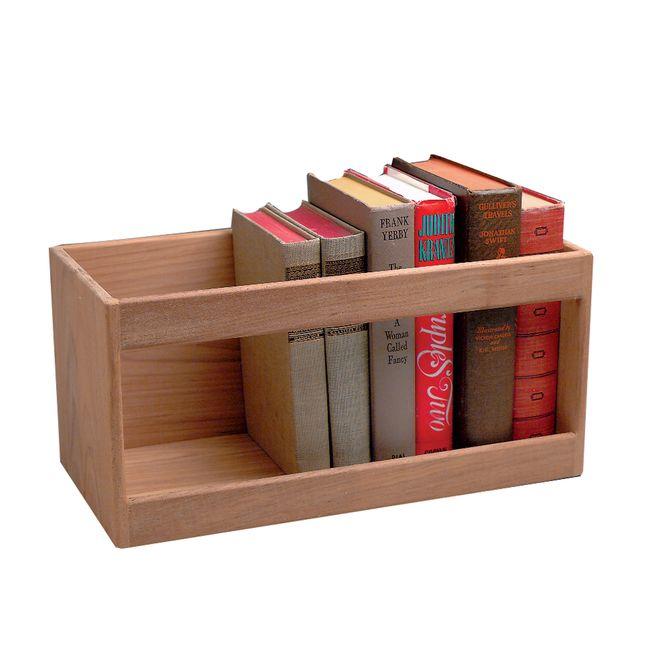Whitecap Teak Hardcover Book Rack [62512]