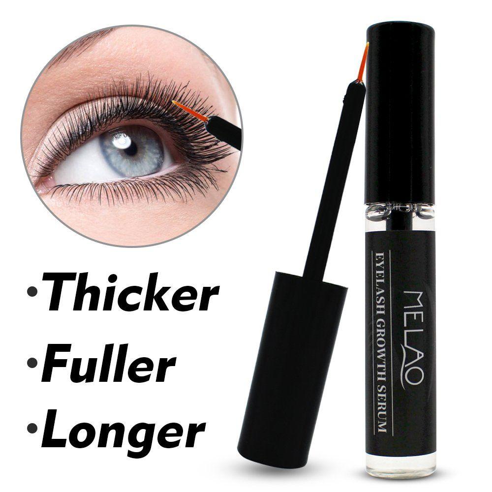Natural Eyelash Growth Serum by MELAO Natural Clear Night Treatment Serum for Eye Lash #EyeLashEnhancersPrimers
