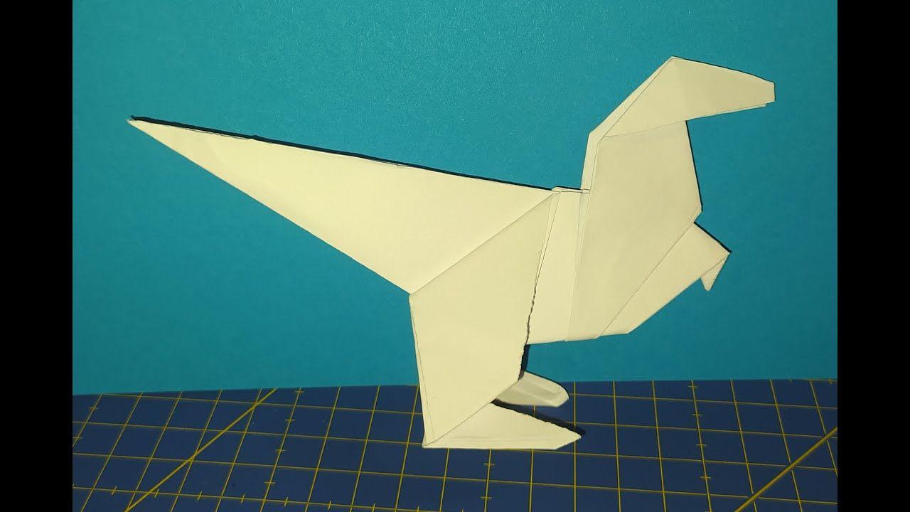 Reto 17 Origami Dinosaurio De Papiroflexia Reto De Manualidades En Cua Papiroflexia Retos De Manualidades Manualidades