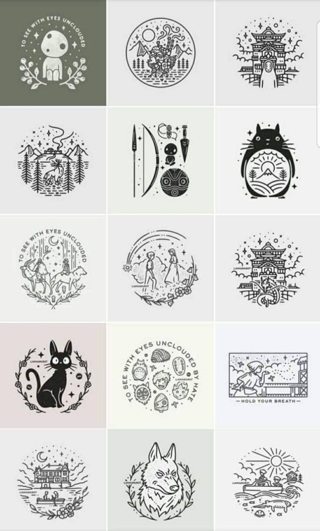 Pin By Aly Bates On Tattoos Ghibli Tattoo Studio Ghibli Tattoo Studio Ghibli