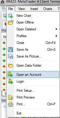 Open Demo Account Metatrader 4 Demo Opendemoaccount Demo