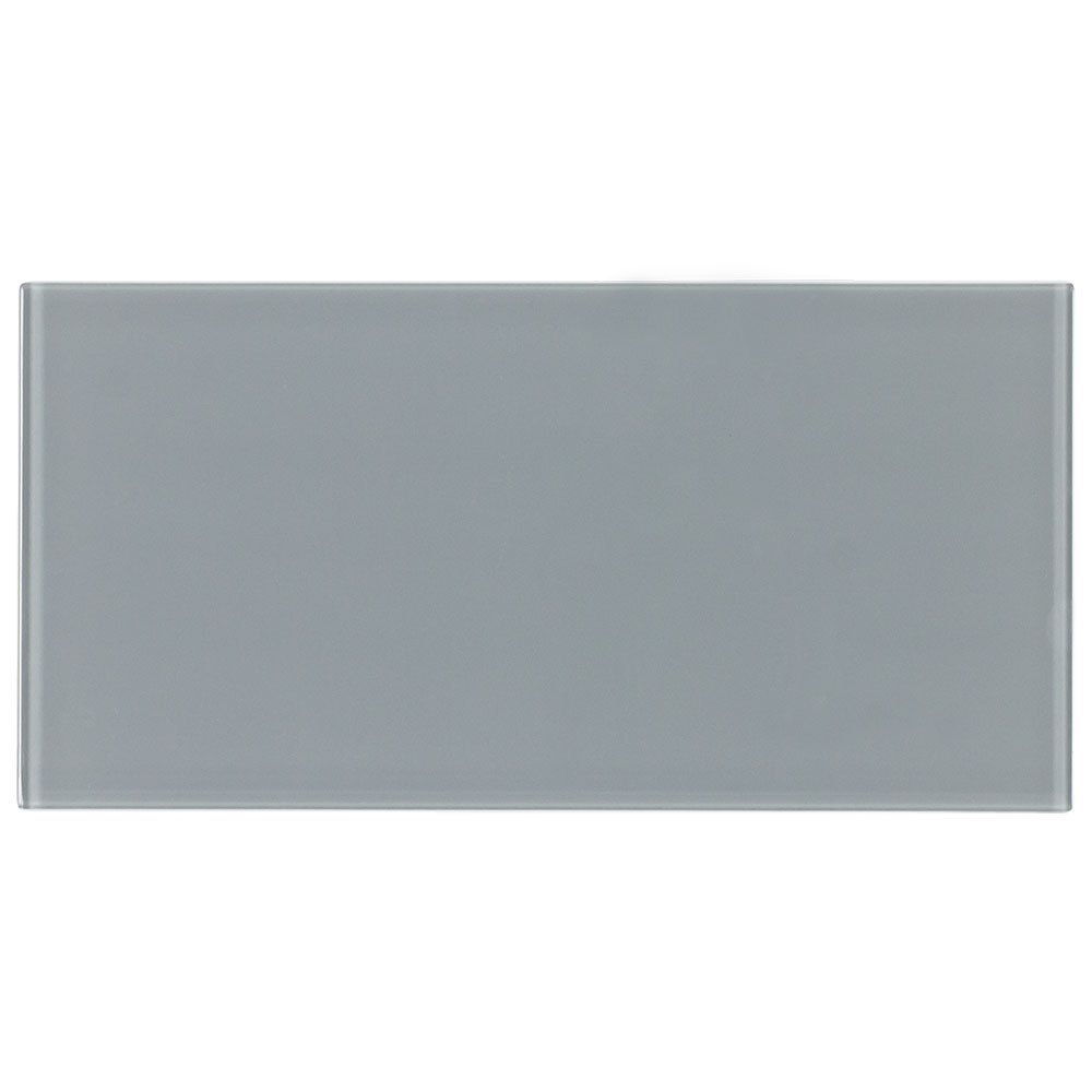 Glass Subway Tile Metropole Grey 4x8 Glass Subway Tile Grey Wall Tiles Subway Tile