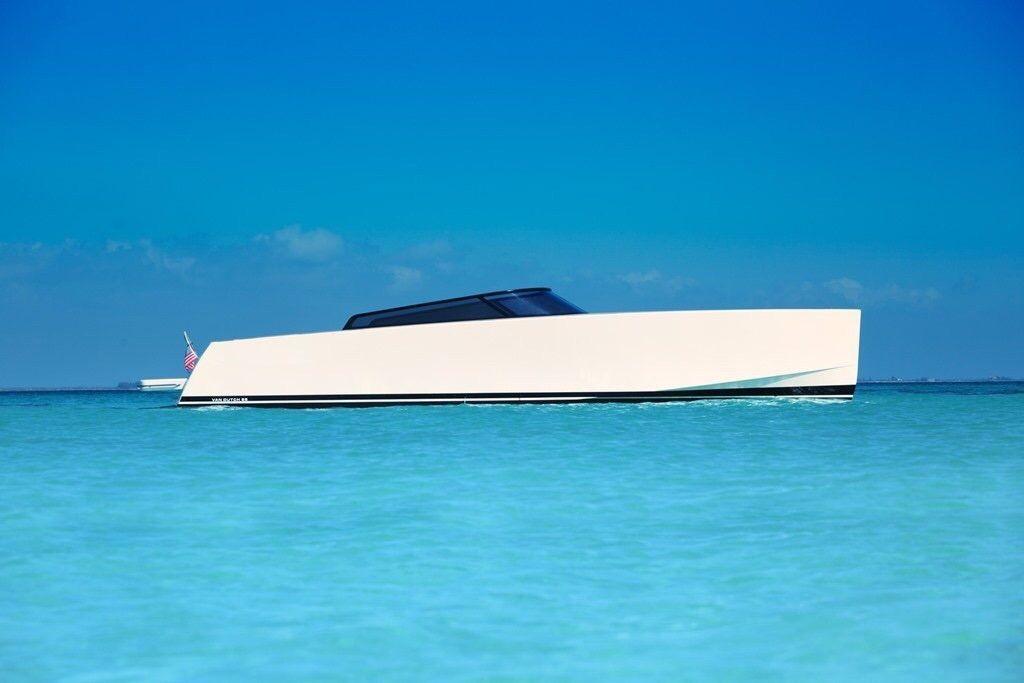 The 2017 Van Dutch 55 By Mulder Design Group Netherlands 1 7m Usd Boat Design Boat Building Speed Boats