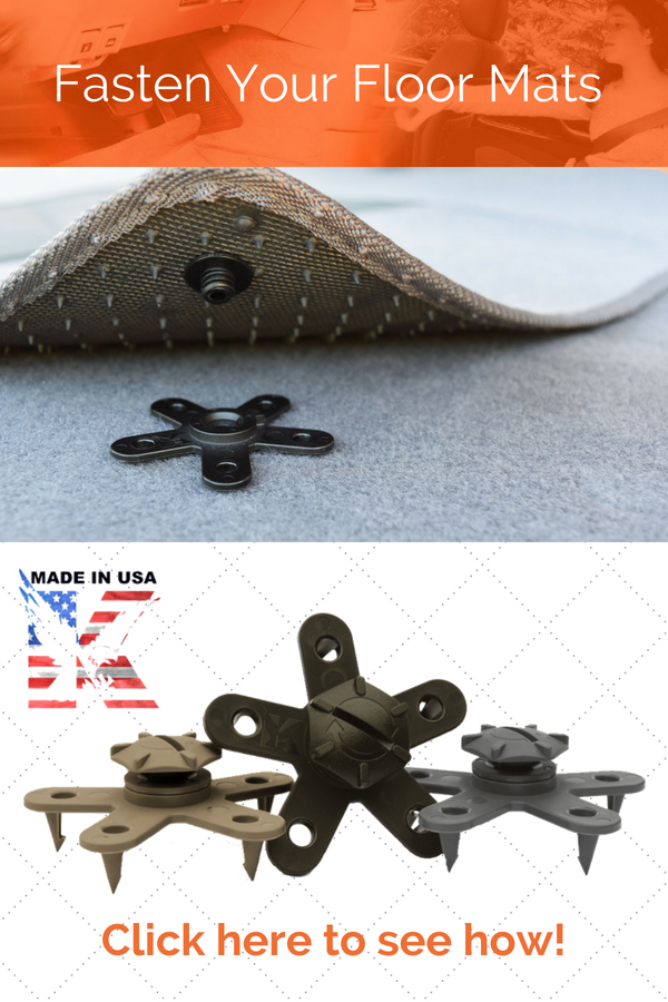 Meet Eagle Klaw Car Mat Fastener The World S Only Multi Point