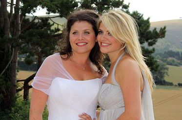 Holly Willoughby At Her Sisters Wedding Www Arunaseth