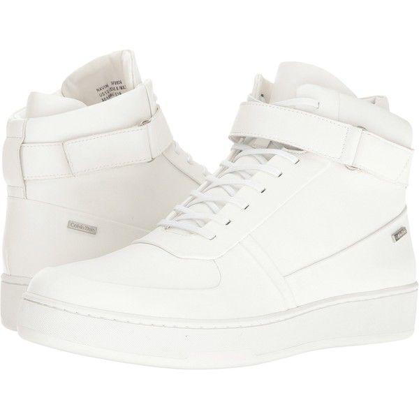 Mens velcro shoes, White sneakers men