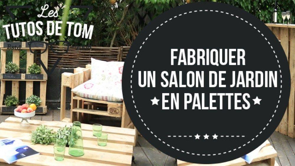 Salon De Jardin Palette Tuto | Salon de jardin palettes ...