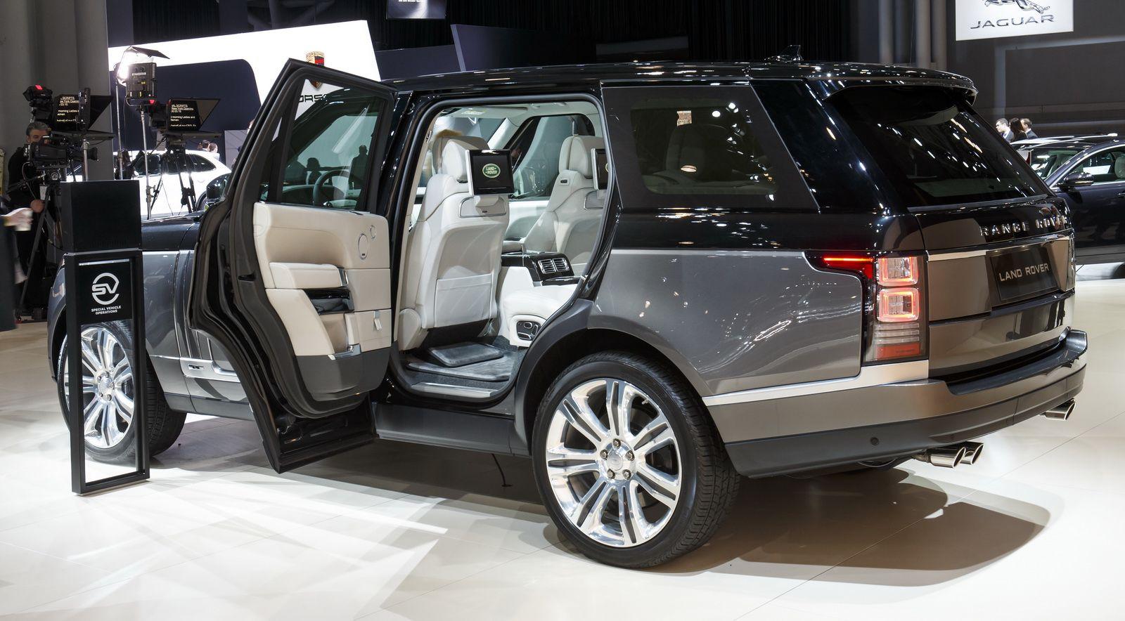 2016 Range Rover SVAutobiography Brings Ultimate 4x4
