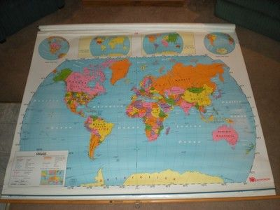 3 pull down mapsus world map south america mexico ebay 3 pull down mapsus world map south america mexico ebay gumiabroncs Images