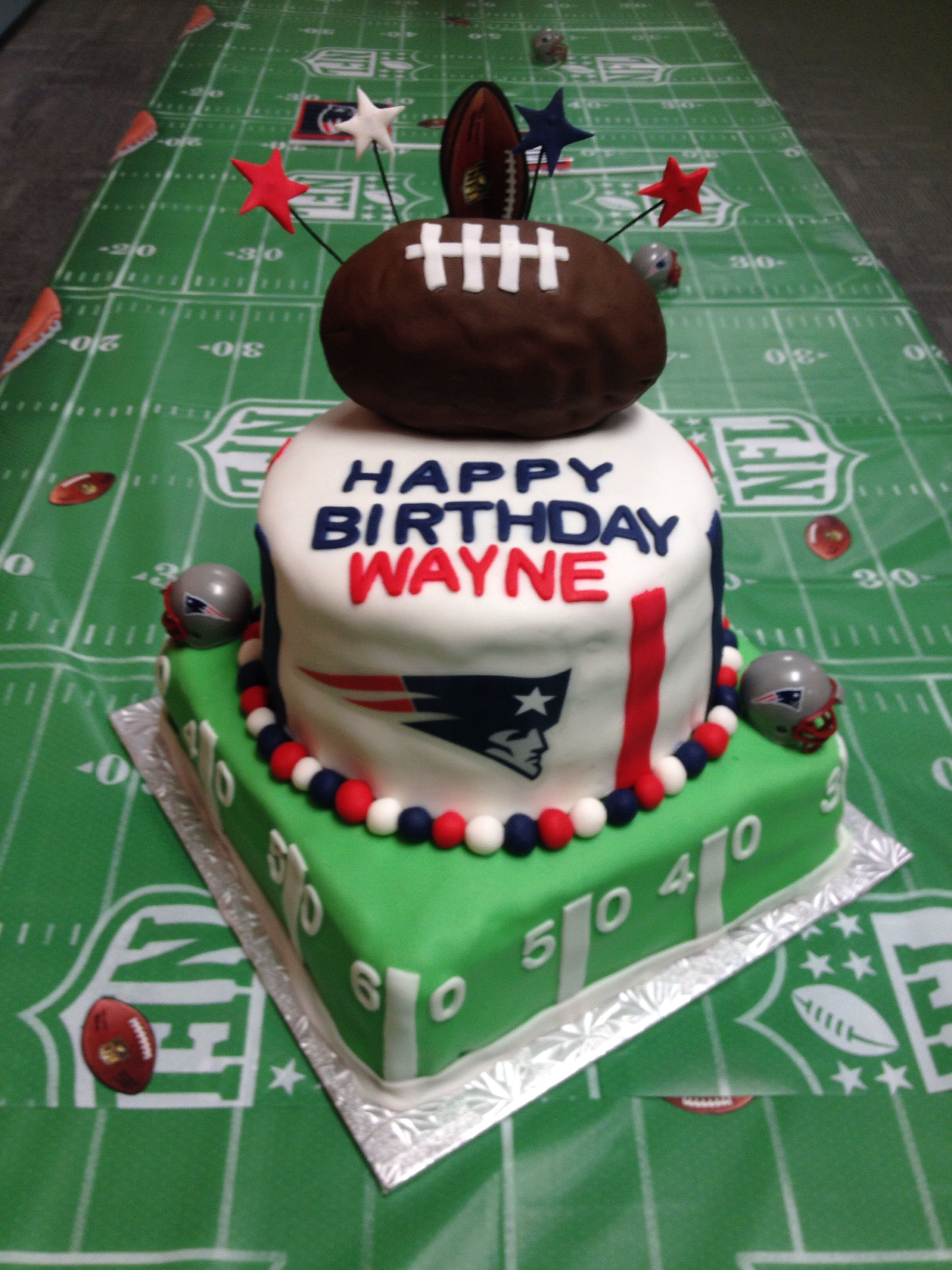 New England Patriots Cake Patriotic Cake Party Cakes Cake Creations