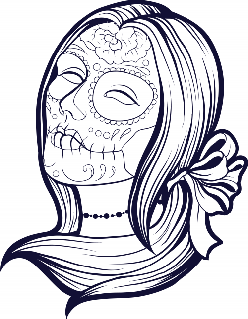 Premium GIVEAWAYS On This Page Limited Time Clik To Get Teach Your Students About Popular Holiday With Advanced Coloring Sugar Skull