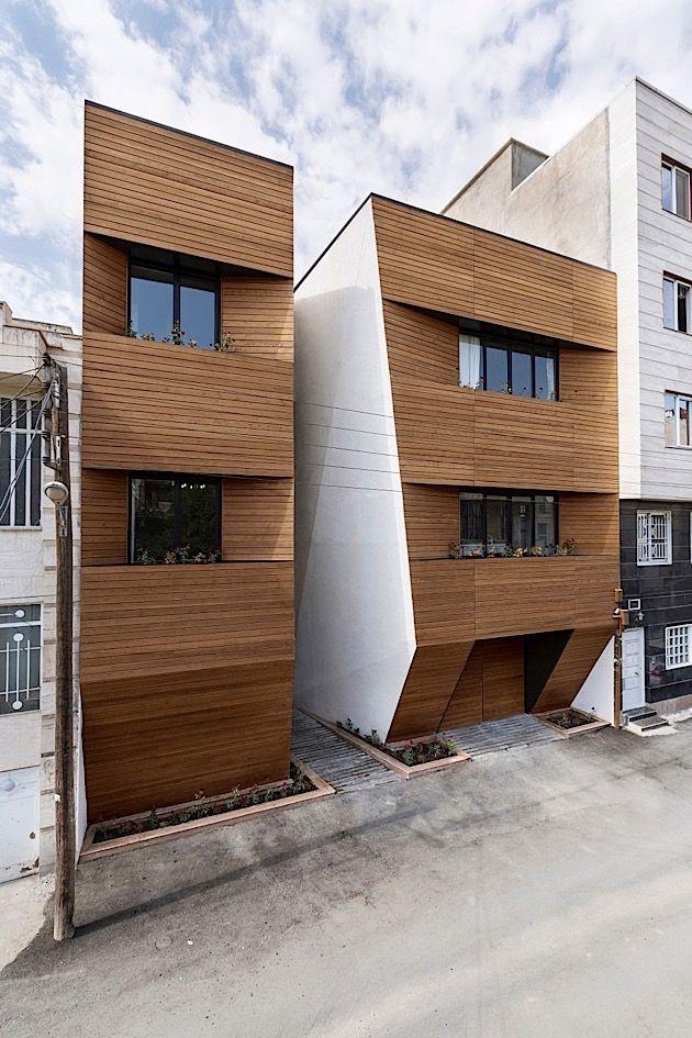 Architektur ein modernes wohnhaus im iran klonblog for Moderne architektur wohnhaus