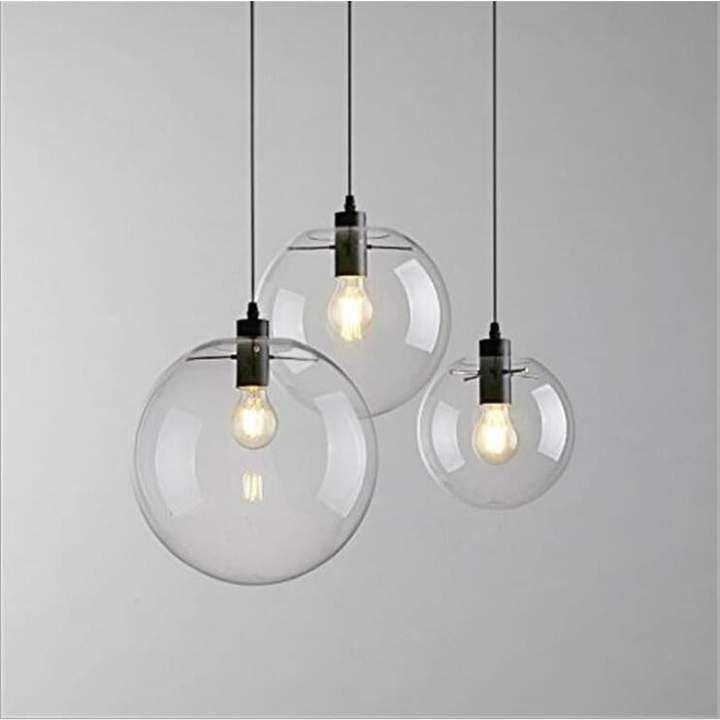 Glass Sphere Light #pendantlighting
