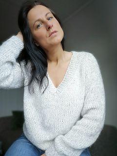 Photo of Audrey genser mønster av Kairi Aksnes