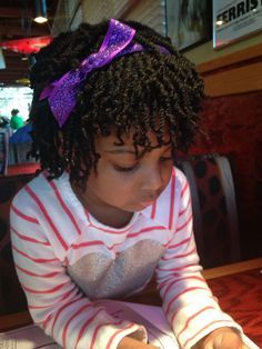 Two Strand Twists Kids Natural Hair Style Hairstyles For