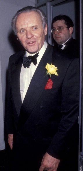 Anthony Hopkins, 50th Annual Golden Globe Awards, Jan 23, 1993.
