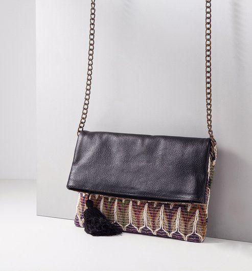 pochette ethnique chic femme imprim multicolore promod sac pinterest bag. Black Bedroom Furniture Sets. Home Design Ideas