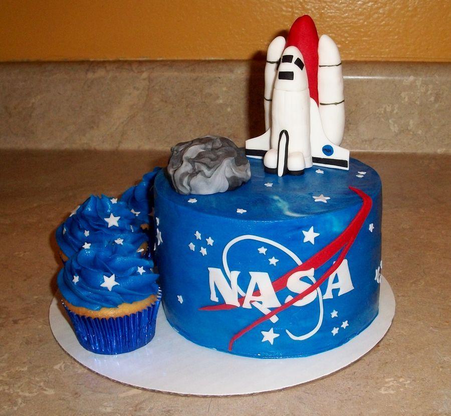 Nasa Cakejpg Astronaut birthday, Nasa party, 17th
