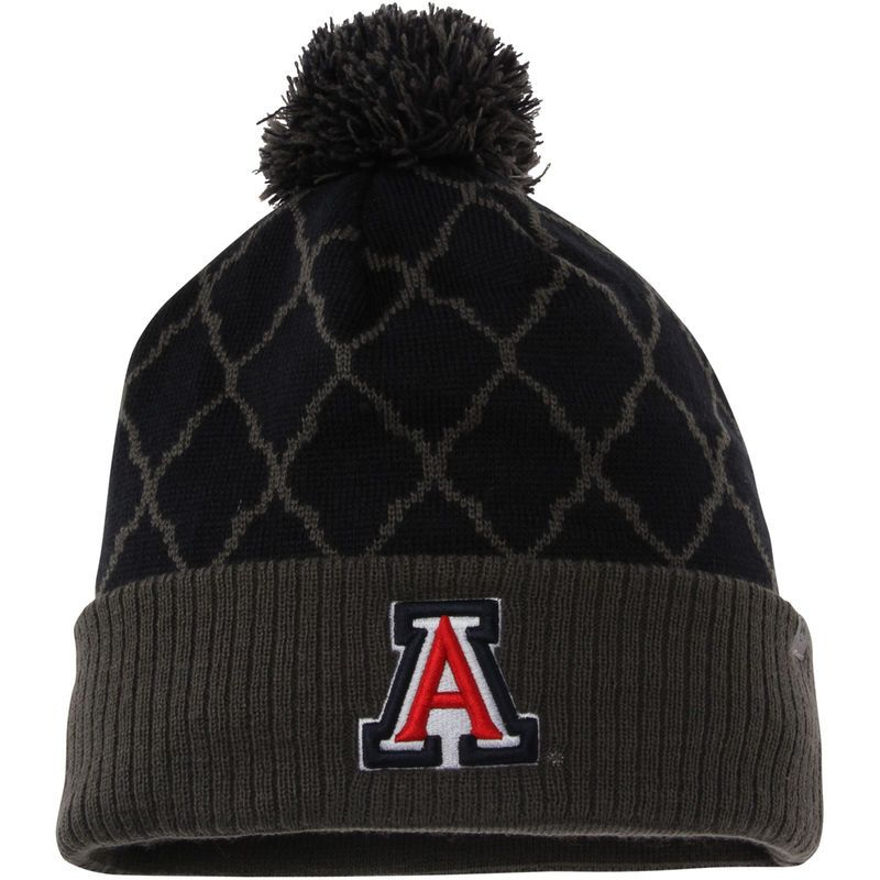 finest selection 9c85d c1b35 Arizona Wildcats Top of the World Women s Diamond Dust Knit Hat - Navy
