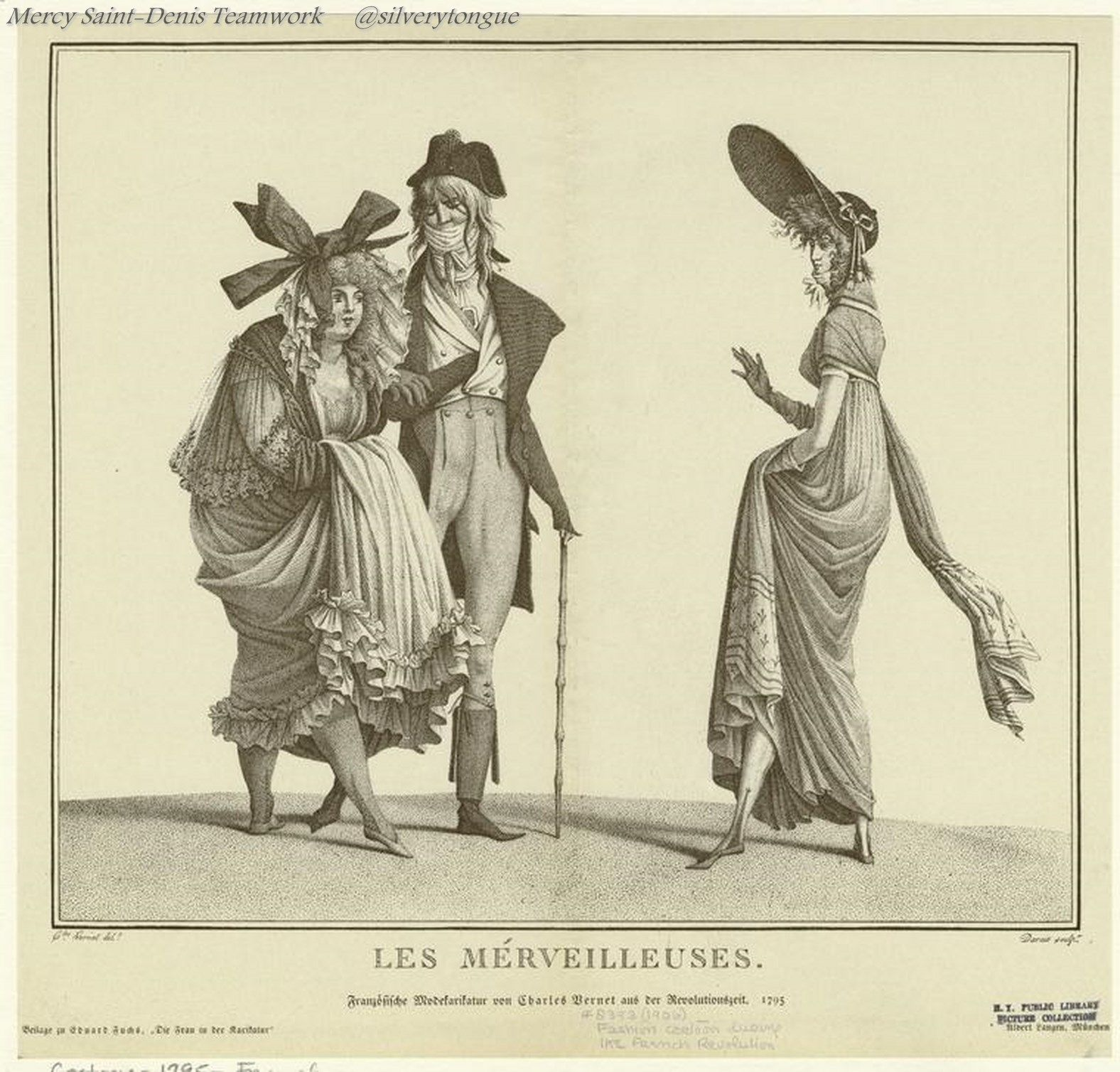 Les Mérveilleuses 1796 Regency Fashion Jane Austen Regency