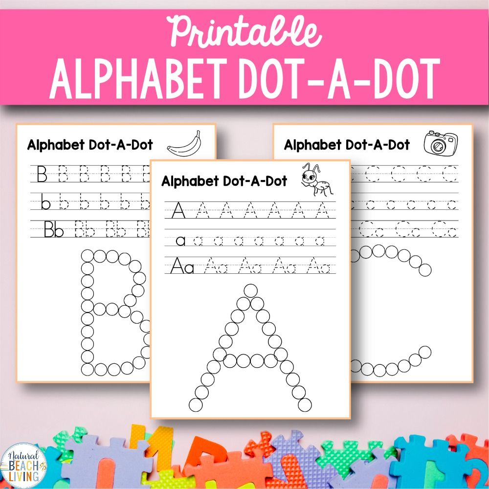 Alphabet Worksheets az Free Q Tip Painting Printables