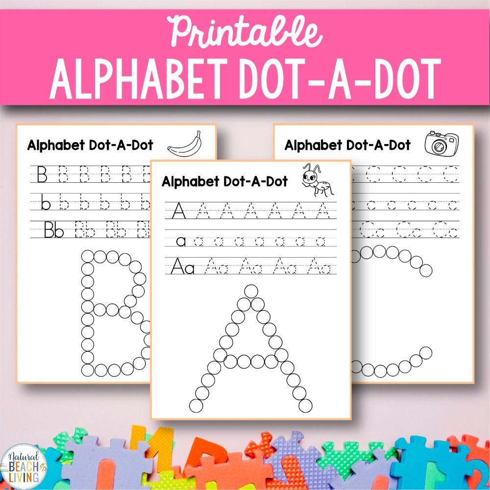 Alphabet Worksheets az Free Q Tip Painting Printables