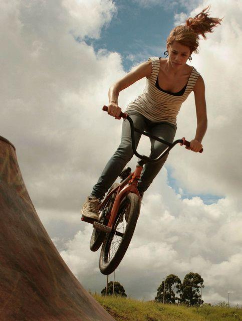 BMX tbm é coisa de meninas!!!! ;D