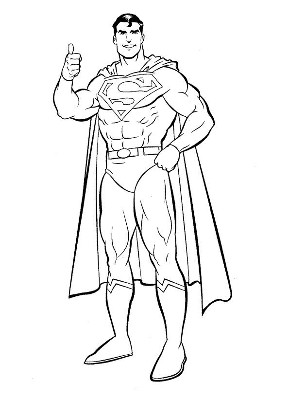 Free Superman Coloring Printables | Grand Babies | Pinterest | Free ...