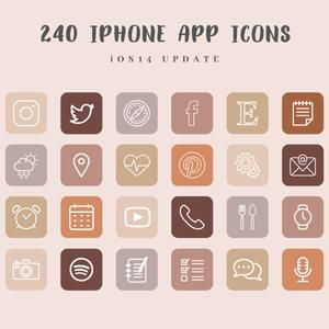 iOS14 App Icons for iPhone FALL Aesthetic | 62 App