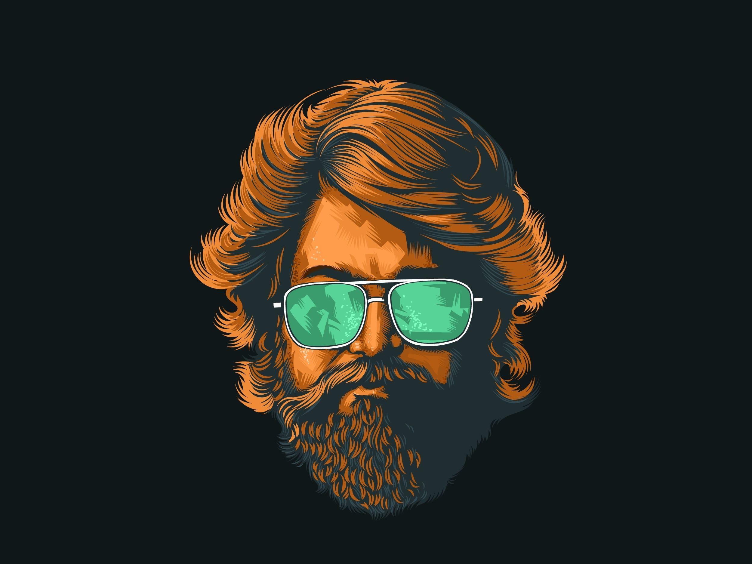 Kgf In 2019 Art Sketches Beard Art Illustration Art