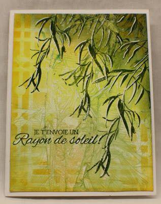 Créations A les trésors: Saules sur Nuance - Nouvelle collection Magenta