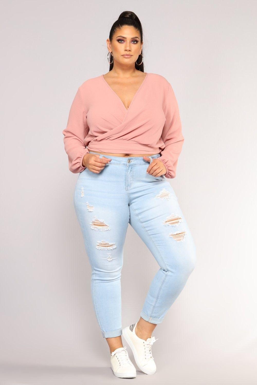 c334d70b180 Plus Size Work For Me Booty Shaping Jeans - Light Blue Wash  24.99  ootd   style  fashion  chic  elegant  streetstyle  fashionable  fashionblogger   stylish ...