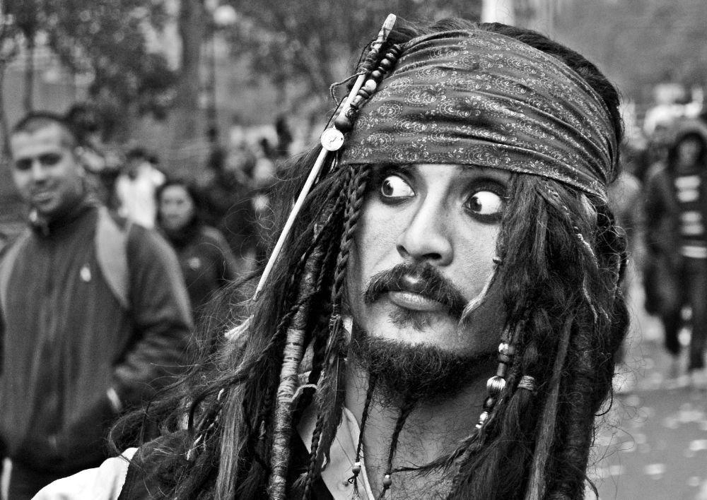 Jack Sparrow, Santiago de Chile. by Manuel Alejandro Venegas Bonilla