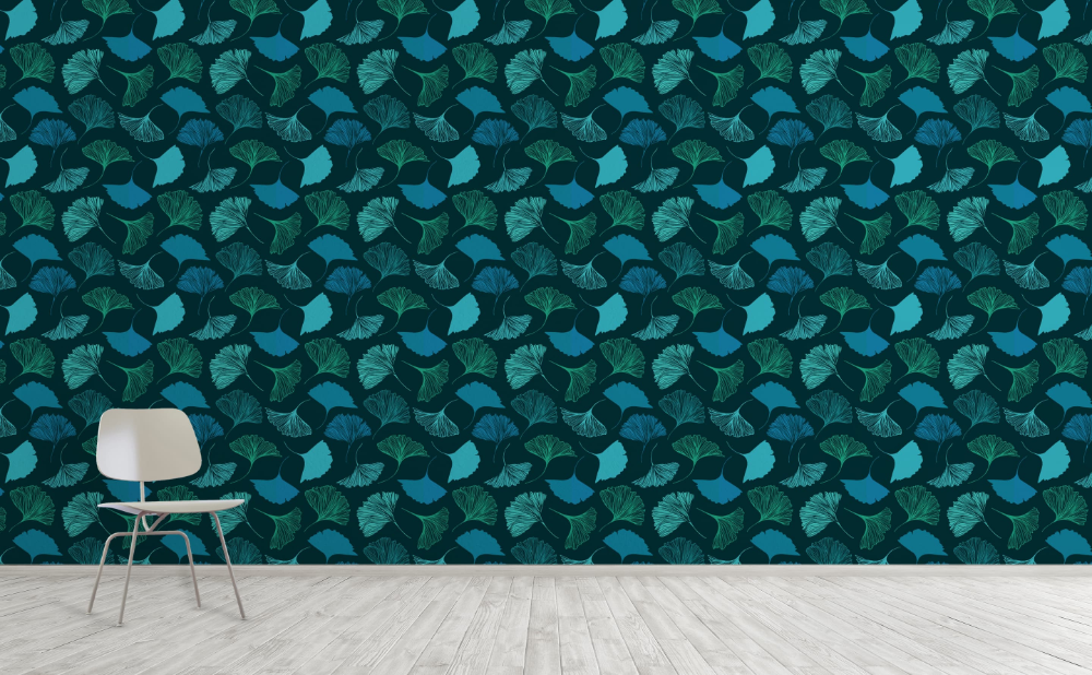Leaves Ivy Wall Murals Walls Need Love In 2020 Leaf Wallpaper Wall Wallpaper Wallpaper
